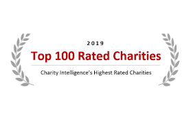 Best And Worst Charities Chart Top 100 Rated Charities Charity Intelligence Canada