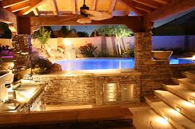 Outdoor Kitchen Designs With Pool Cool Inspiration