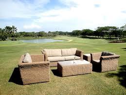 bude 4 piece outdoor rattan garden sofa set 2 seater garden sofa