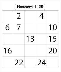 Writing Numbers In Sequence Printable Missing Number Worksheets 1 20 ...
