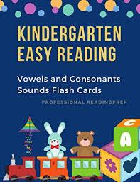 Kindergarten Easy Reading Vowels And Consonants Sounds Flash