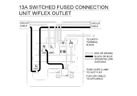 switched fused spur wiring diagram efcaviation com is load in or out at Fused Spur Wiring Diagram