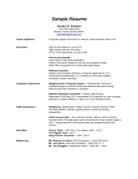 Non High School Diploma Resumes Profesional Resume Template