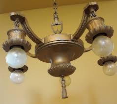 1920s chandelier feature