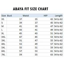 Bell Size Chart Abaya Dress With Double Layers Of Bell Sleeves And Matching Belt Navy Blue