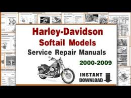 harley davidson softail evo 1340cc motorcycles service repair harley davidson softail models service repair manuals 2000 2009 pdf