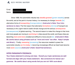 ielts writing mastery sample from corrected essay intro paragraph