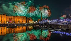 Liverpool Fireworks Illuminating Guide To The River Of