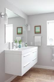 Modern Cottage Bathroom - Basement bathroom remodel