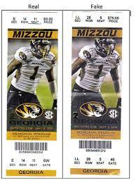 Fraudulent Tickets Keep Fans From Missouri Georgia Game