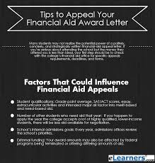 effective tips on how to appeal your financial aid award letter appeal financial aid letter