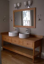 double vessel sink vanity. Double Vessel Sinks Open Style Vanity With Three Functional Drawers Sink D