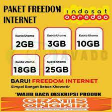 Paket internet indosat murah super wifi hampir sama seperti paket wifi id pada provider telkomsel. Harga Paket Internet Im3 Terbaik Pulsa Voucher Juni 2021 Shopee Indonesia