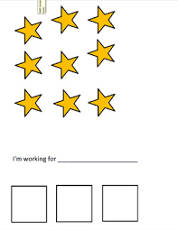 Star Chart With 3 Spaces Extra Stars By Debs Circus Tpt