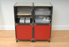 office supply station design made from cube modular furniture system by yube modular furniture system
