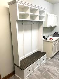 Coat Rack With Drawers Entryway benchshoe storageorganizationmudroomhall 30