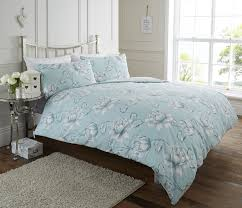 life from coloroll florabunda duck egg duvet ponden homes