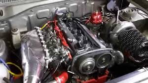 Nissan 1400 Toyota 4AGE 20v Turbo conversion