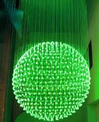 fiber optic chandelier china jellyfish