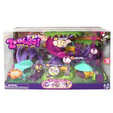 Amazoncom Zoobles Razoou0027s Treehouse Playset Toys U0026 GamesZoobles Treehouse Playset