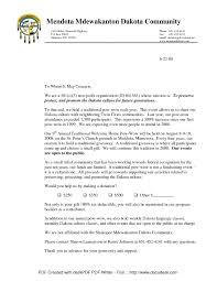 Fundraising Letter Business Letters Sample Fundraising Letter
