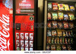 Soda Snack Vending Machine Inspiration Snacks And Drinks In Vending Machine Germany Stock Photo 48