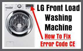 lg front load washing machine error code ce how to clear error LG Mini Split at Lg 3 Wire Harness Mini Sit