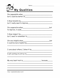 Worksheet Template : Lifeskills Worksheets With Worksheets For All ...