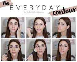 or as i like to say contouring for dummies like myself that that cakey makeup look that most contouring gives you