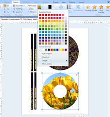 avery template 8965 how do i create a new cd dvd label project from scratch