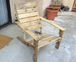 furniture out of wooden pallets. Wooden Pallet Patio Chair Furniture Out Of Pallets