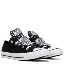 converse womens shoes. converse women\u0027s chuck taylor all star double tongue low top sneaker shoe womens shoes