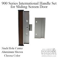 handle set for sliding patio door 900 series international 3 inch choose color