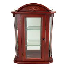 wall curio cabinet wall curio cabinet shadow box display case antique curved glass curio cabinet for