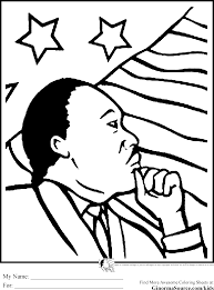 Black History Coloring Pages Mlk American