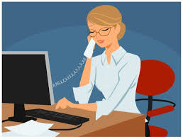 assistant on the phone clipart - Clip Art Library