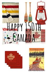 Small Picture Happy 150th Canada Home Decor interiorsbykikicom