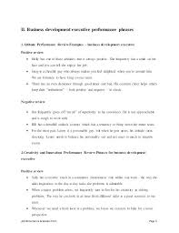 Sample Staff Performance Appraisal Form Goals For Examples Of Smart