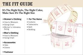 Misses Size Chart The Vermont Country Store Fit Guide Size Chart For Clothing