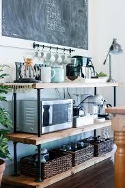 home coffee bar furniture. diy black pipe coffee barstation home bar furniture