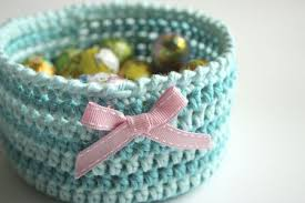 Free Crochet Basket Patterns Mesmerizing 48 Free Crochet Basket Patterns