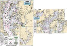 Upper Chesapeake Bay Chart Captain Segull Chart No Cbu120 Upper Chesapeake Bay