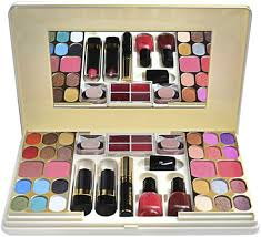 just gold makeup kit set of 49 piece jg923
