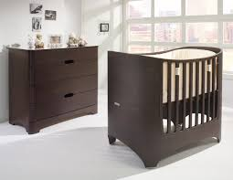 leander collection in convertible crib in walnut