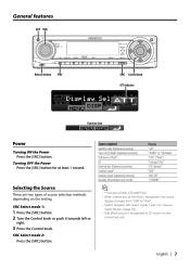 kenwood kdc x aux input kdcx excelon cd mp wma receiver