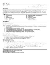 Medical Office Administration Resume Samples Administrative Examples Simple Office Administrator Resume