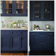 thinking of hardware navy blue cabinets can pull off almost any metallic tone from silver gold copper or bronze and anything in between