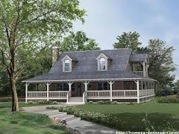 decor country house plans with big porch small porches