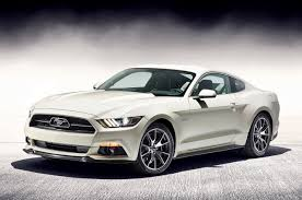 2015 ford mustang white. mustang 50 year limited edition 2015 ford white