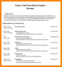 ... Pastry Chef Resume Sample ...